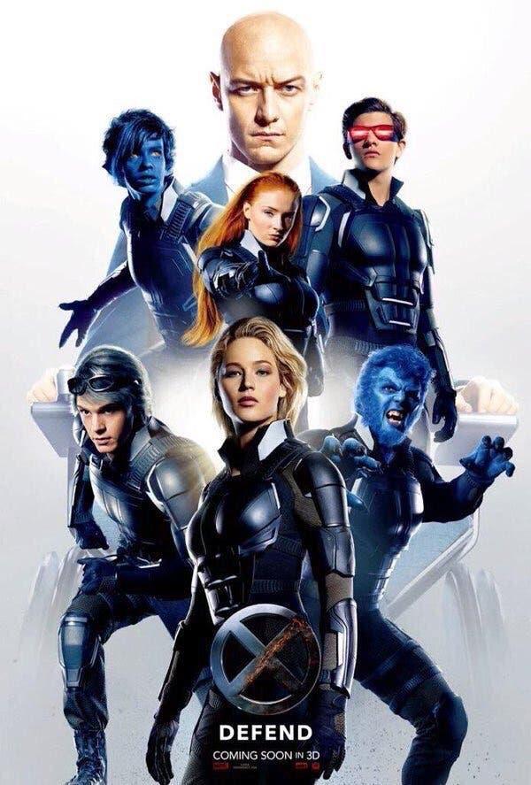 Areajugones X-Men Apocalipsis póster