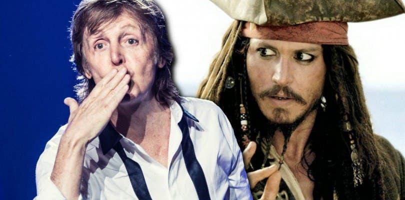Paul McCartney se une al reparto de la quinta entrega de Piratas del Caribe