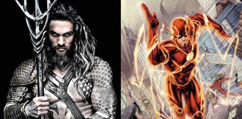 Las películas de Flash y Aquaman no contarán sus respectivos orígenes