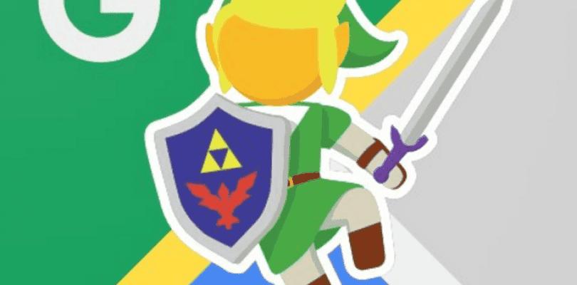 Google Maps rinde homenaje a The Legend of Zelda utilizando a Link como guía