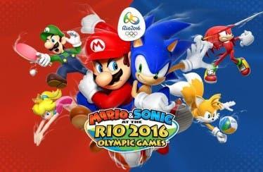 El minijuego de futbol en Mario & Sonic en los Juegos Olímpicos: Río 2016 luce así en Nintendo 3DS