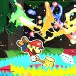 Segundo episodio de  Paper Mario: Color Splash-Rescue V Stars