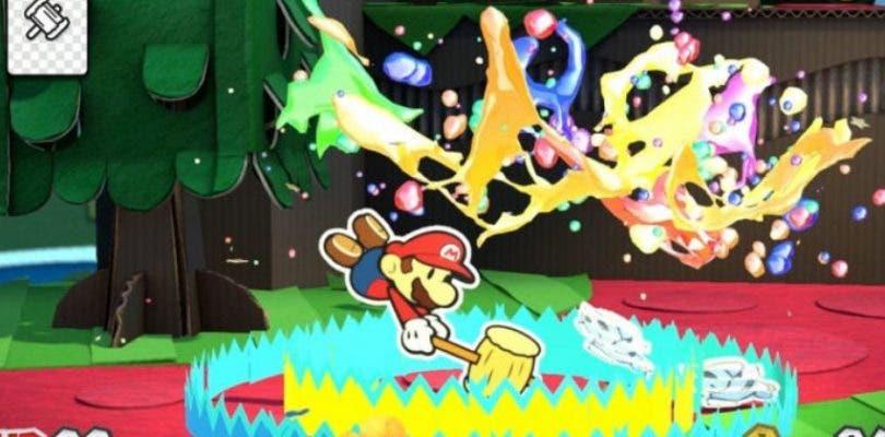 Se revelan nuevos detalles de Paper Mario: Color Splash