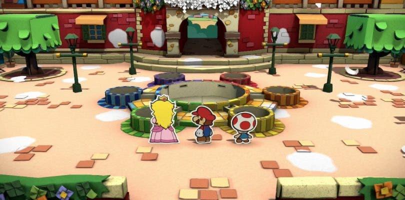 Así luce Paper Mario: Color Splash en su nuevo tráiler del E3