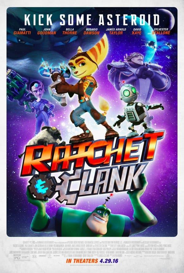 Ratchet-Clank pelicula