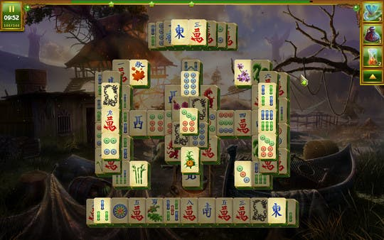 Steam Free to Play Lost Lands Mahjong