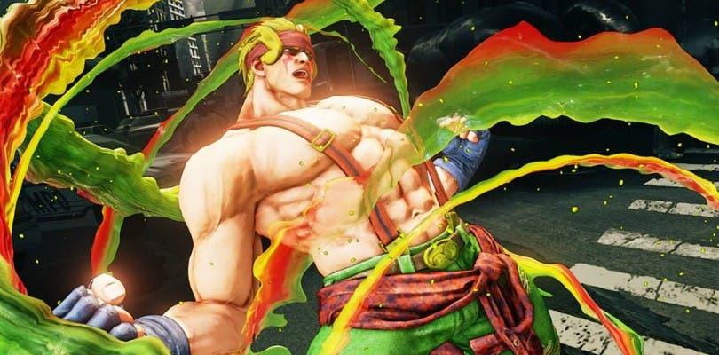 Capcom muestra las primeras imágenes de Alex en Street Fighter V