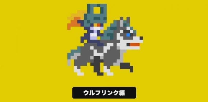 Así es el nivel de Link Wolf en Super Mario Maker