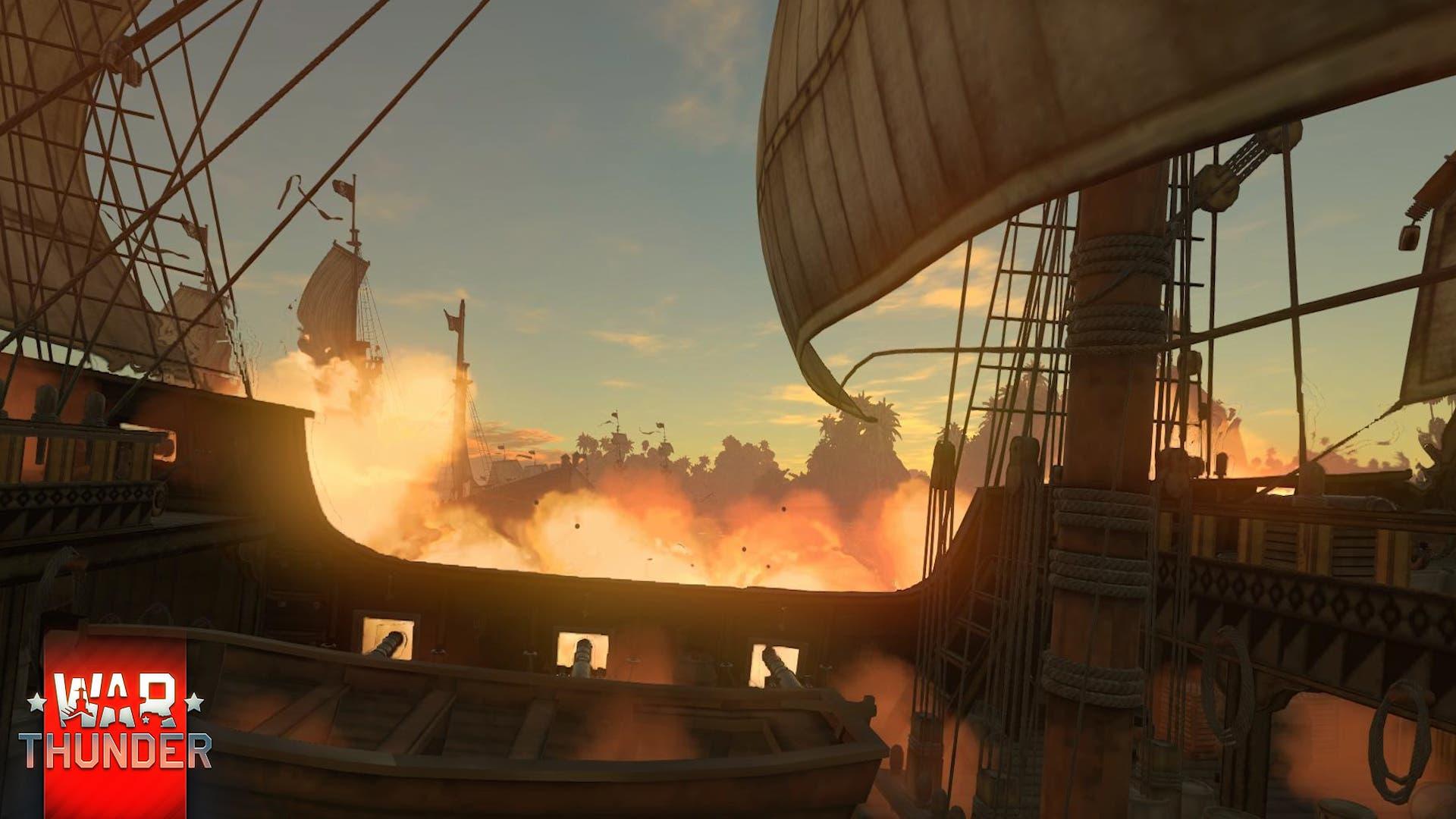 War Thunder batallas navales 1