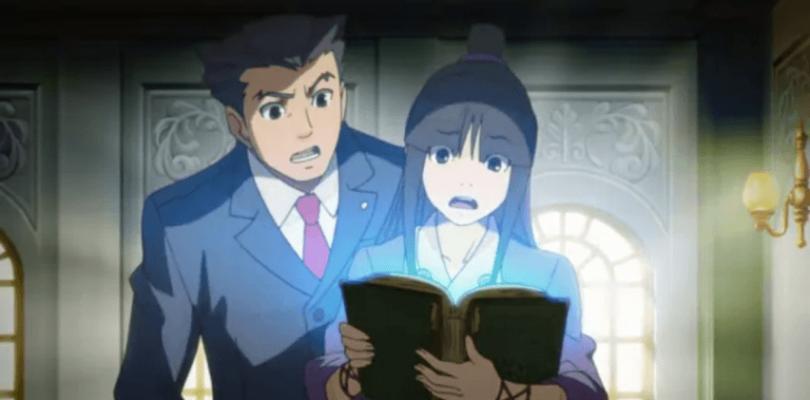Un pequeño teaser aumenta nuestras ganas por el anime de Ace Attorney
