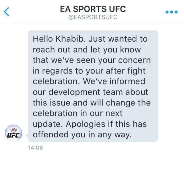 disculpa EA