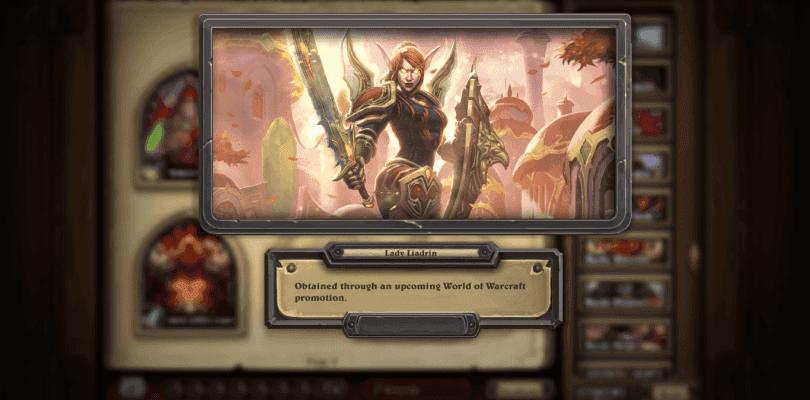 Liadrin une Hearthstone y World of Warcraft más que nunca