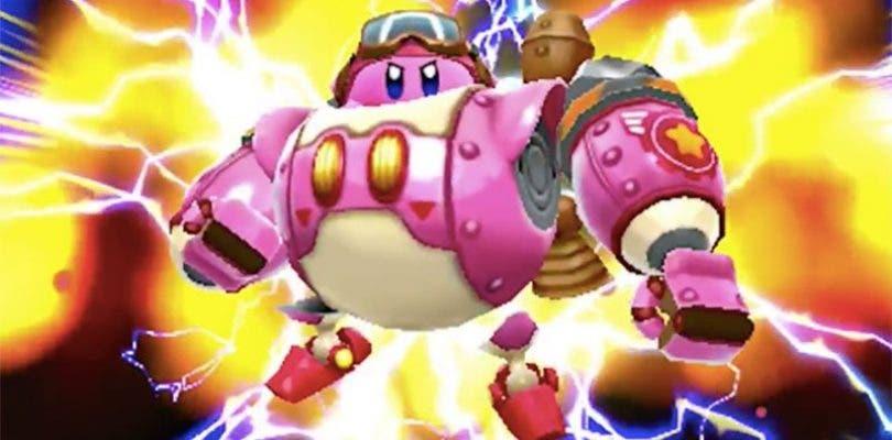 Nuevos vídeos de Kirby: Planet Robobot muestran sus poderes