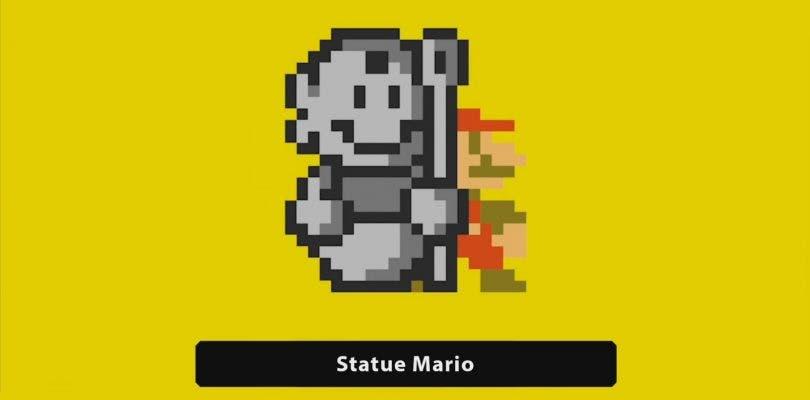 Así es el nuevo nivel de Mario Estatua en Super Mario Maker