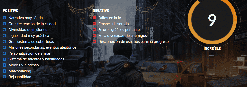 the division nota