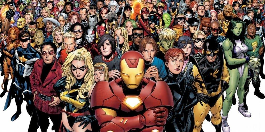 Areajugones Personajes Marvel