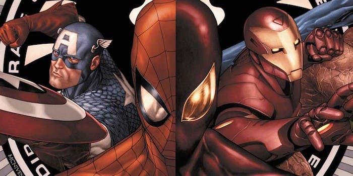 Areajugones Spider-Man Capitan America Iron Man