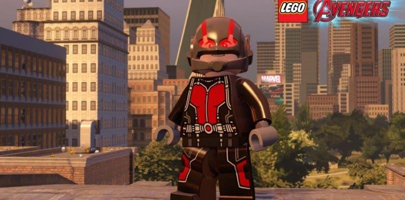 El DLC de Ant-Man para LEGO Marvel Vengadores gratis para PS4 y PS3