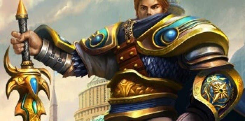 Una anciana china le reza a una estatua de League of Legends