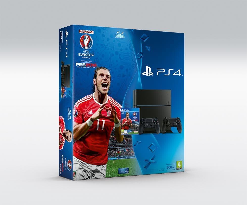 PlayStation 4 pro evolution soccer 2016 EURO