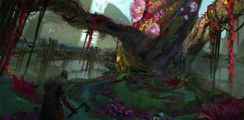 Posibles diseños de arte filtrados de God of War 4