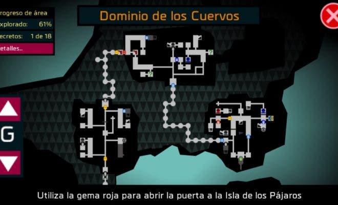 El mapa estará compuesto por salas que se suceden de manera consecutiva