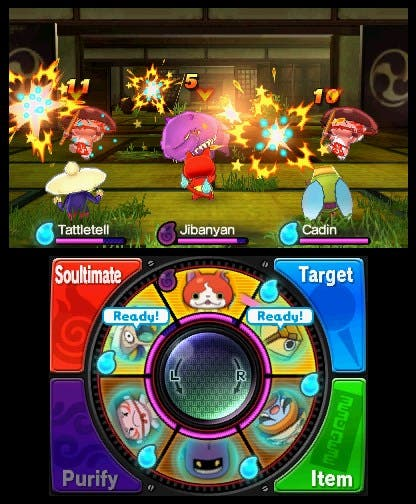 Yokai Watch Combate 4