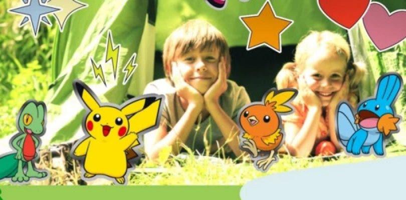 La aplicación Campamento Pokémon está disponible en todo el mundo