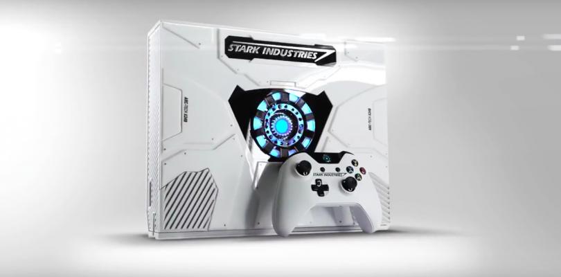 Preciosa Xbox One para patrocinar la película Civil War