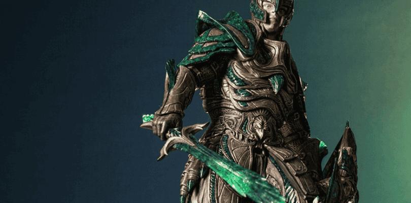 Así es la figura de la armadura de cristal de Skyrim