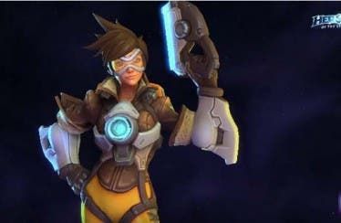 Heroes of the Storm presenta a Tracer