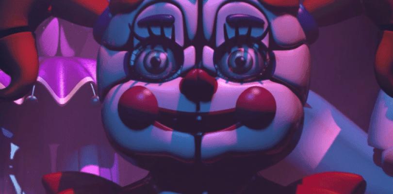 Primer tráiler de Five Nights at Freddy's: Sister Location
