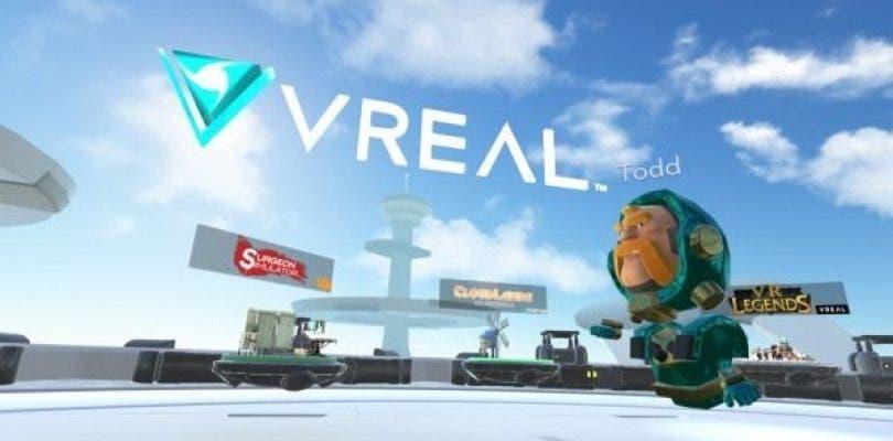 VREAL, llega el streaming de juegos para la realidad virtual