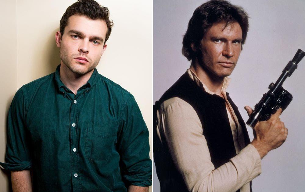 Areajugones Alden Ehrenreich Han Solo