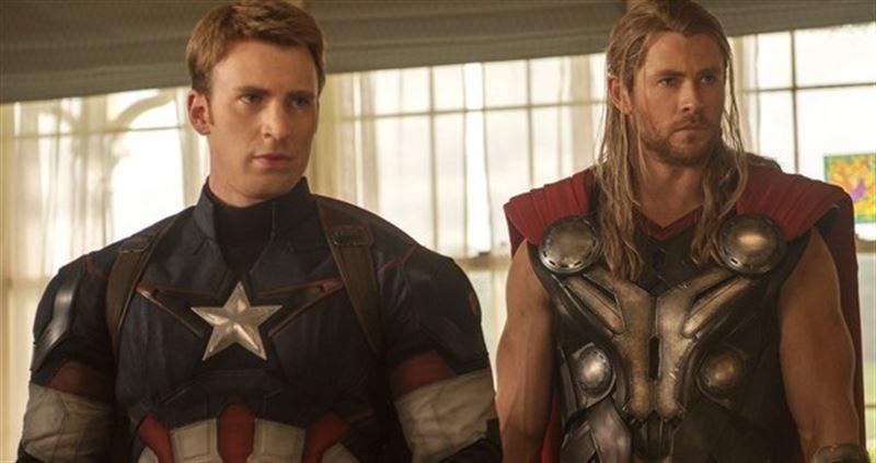 Areajugones Capitan America Thor