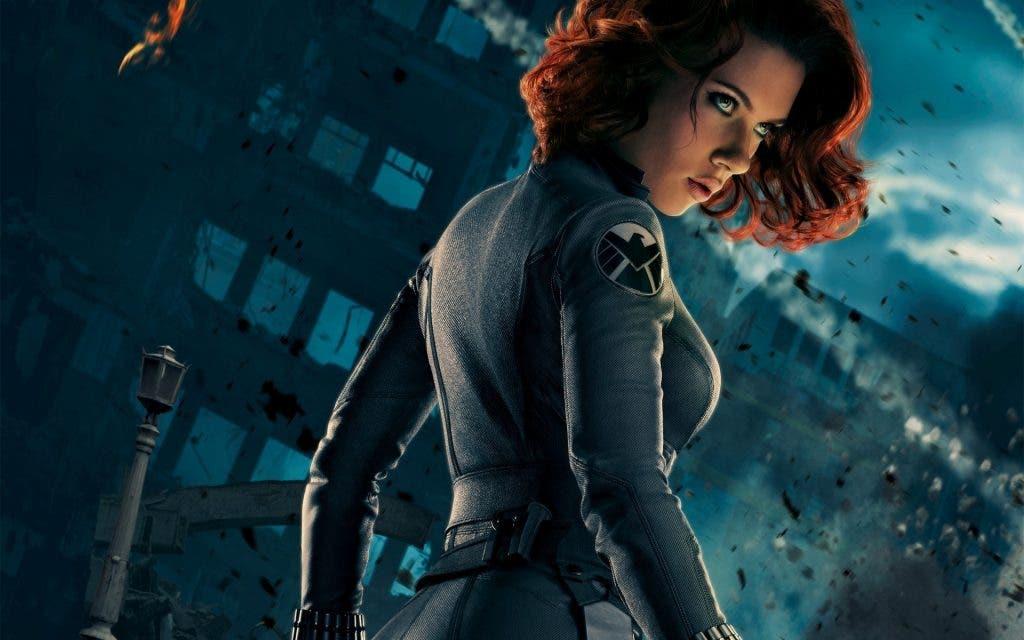 Areajugones Viuda Negra Scarlett Johansson