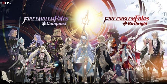 Birthright and conquest Fire Emblem 3ds