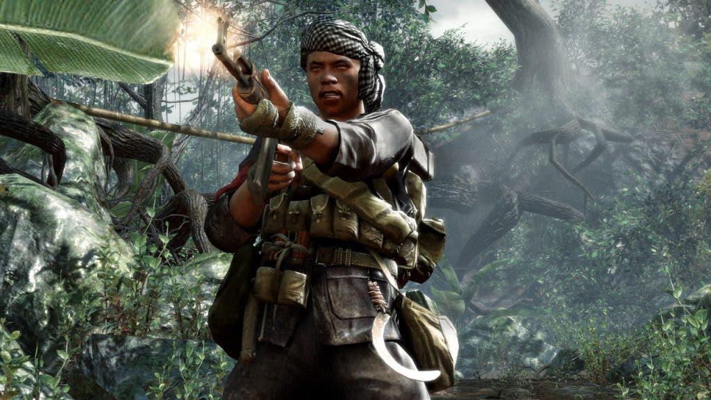 La franquicia Call of Duty dejó los conflictos pasados en World at War, retomándolo con Black Ops y la Guerra Fría... aunque nos esperábamos una campaña en Vietnam más realista, cuando en realidad en Vietnam había más soldados soviéticos que norvietnamitas...