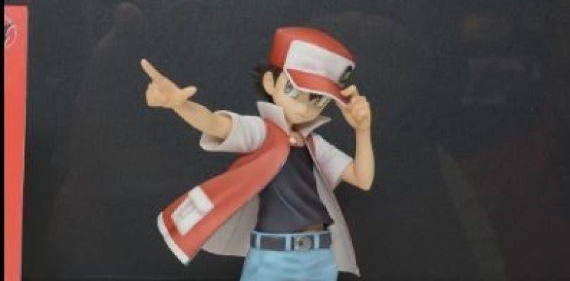 Se muestra una nueva figura de Rojo y Pikachu