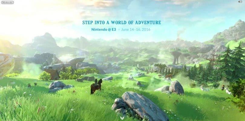 Nintendo abre una web para el E3 2016