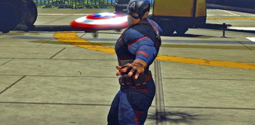 Nuevos trajes de Capitán América: Civil War llegan a Marvel Heroes