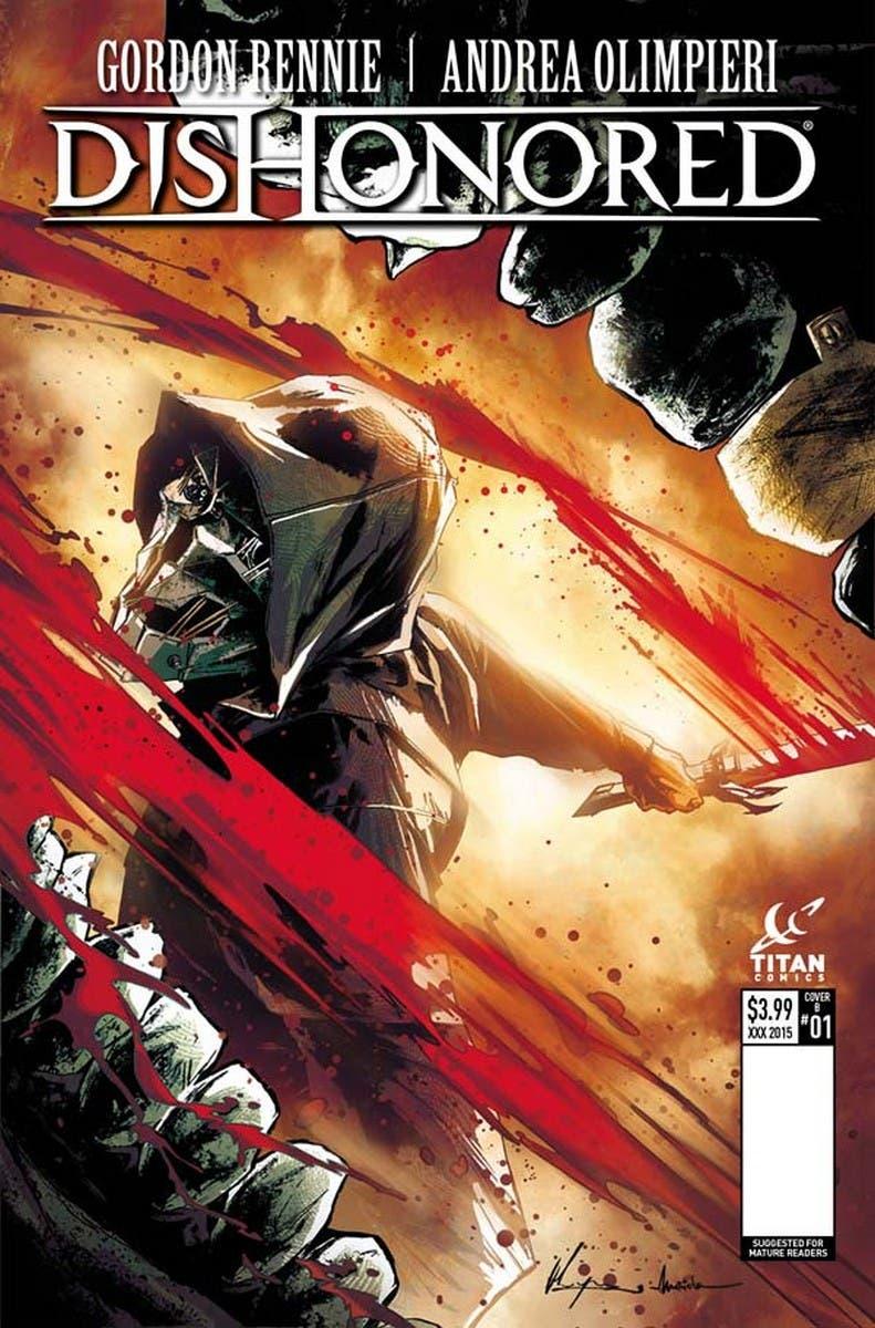 Dishonored comic