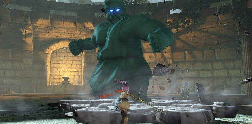 Se muestra el control de los monstruos en Dragon Quest Heroes II