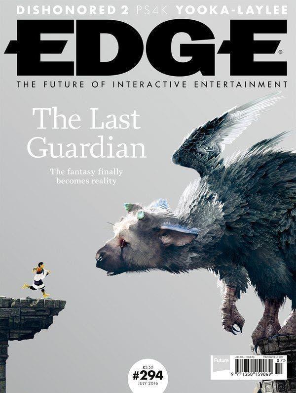 EDGE The last Guardian