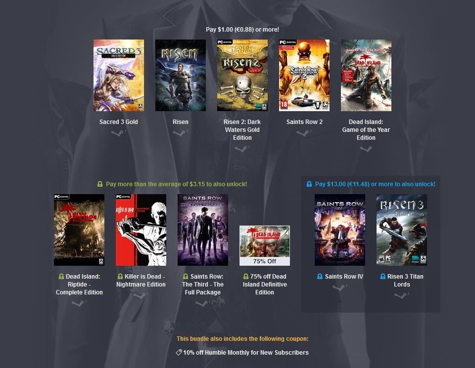 Humble Deep Silver Bundle 2 - Games