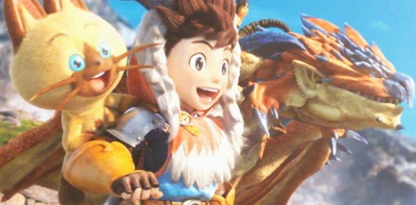 Nuevo tráiler de Monster Hunter Stories mostrando a Aptonoth