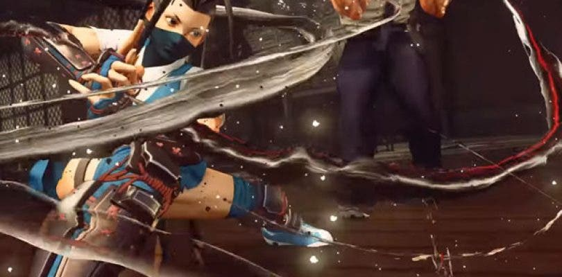 Así luce Ibuki en Street Fighter V
