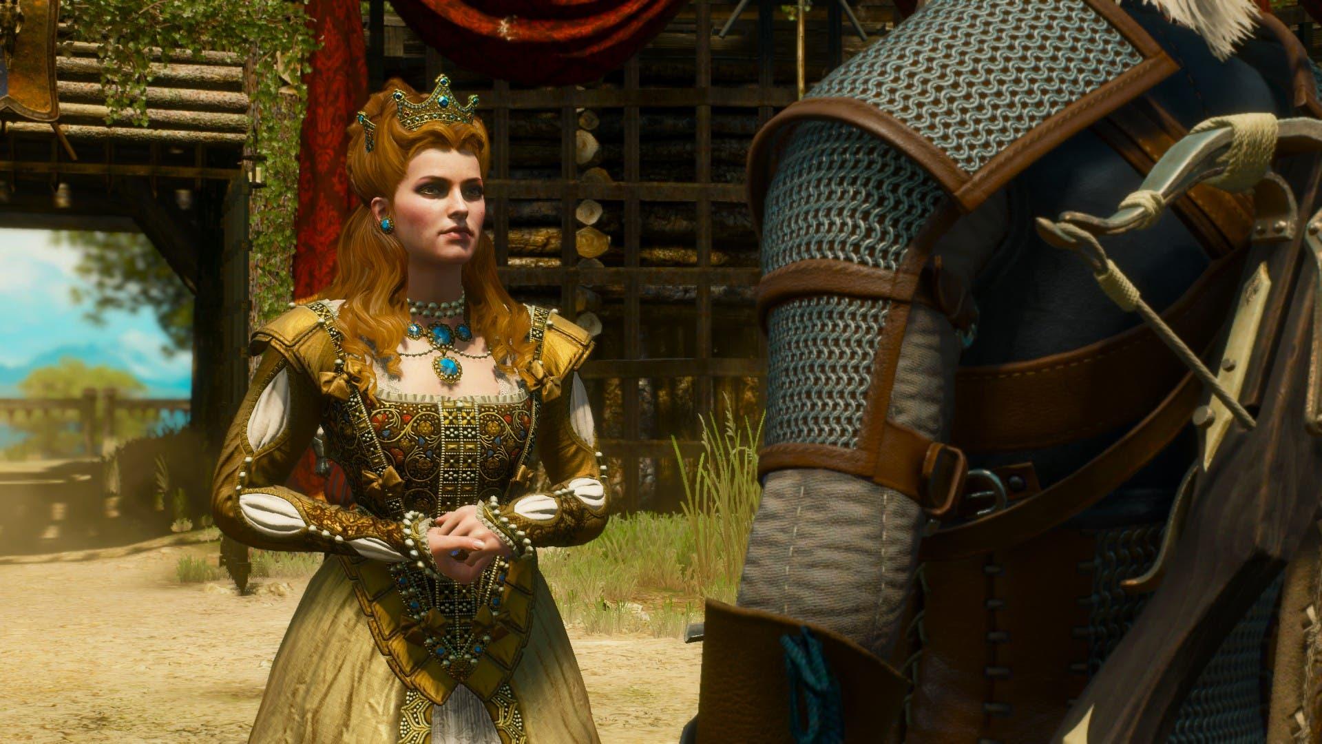 La duquesa de Toussaint, su gracia