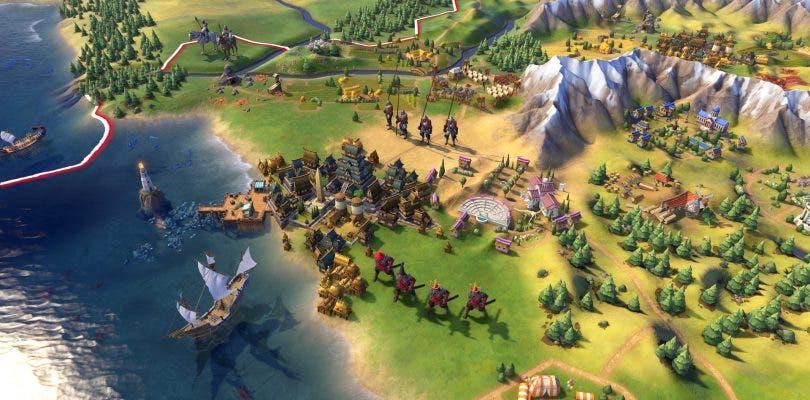 Gameplay de una hora de Civilization VI a mandos de Noruega
