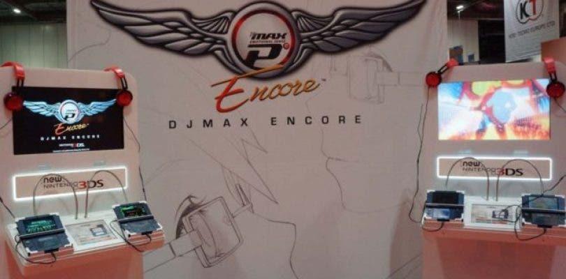 DjMax Encore se muestra en la MCM Comic Con
